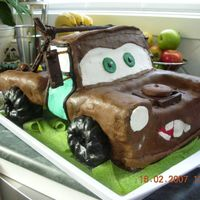 Mater My first 3D image cake, and first time using READY TO ROLL ICING. It took me about 4 hours to decorate.