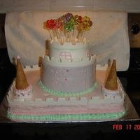 Brianna's Castle Cake This cake was for my Daughter's 1st B-Day, and also the first cake that I have ever decorated. Definately some things I would have...