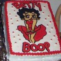 Betty Boop Red Dress
