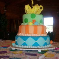 Big Birthday Bash This cake was inspired by cakesbyallison (thanks for the inspiration!). I did it for free for my cousin. It was my first time working with...