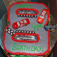 Dale Jr. I made this for my stepdad's birthday. He is a huge Dale jr. fan.