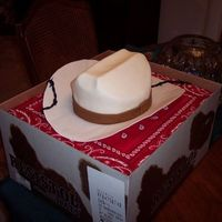 Cowboy Hat With Barbwire