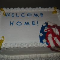 Max's Welcome Home My cousin had just returned from his second tour in Iraq. I made this for a family get together.Took me FOREVER because I wanted it to be...