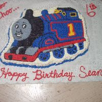Thomas The Tank Engine 2 this was for a little boy's birthday