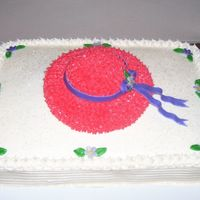 Red Hat Club Cake