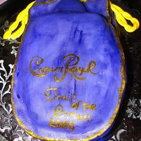 Crown Royal I made this for my cousin's 21st birthday. I made some mistakes, but I learned from them.