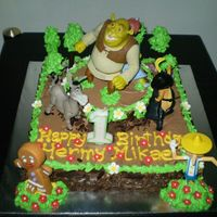 Birthday Cake For Hermy Mikael Tks to Mima's for giving me the trust to bake this Shrek cake for her son 1st Birthday Party.