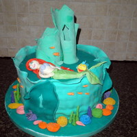 Little Mermaid   Debbie Brown inspired Little Mermaid cake.