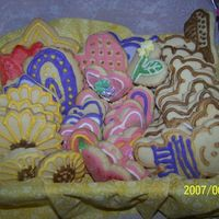 Sugar Cookies I make these sugar cookies with royal icing for my granddaughters second birthday