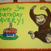 Curious George Cake   Curious George FBCT