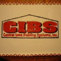 Business Logo Cake I recently joined the Chamber of Commerce in the town close by and I got this order right away. Logo done with a FBCT.