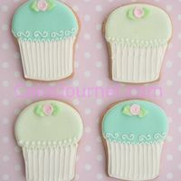 Cupcake Cookies Decorated with RI.
