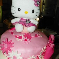 $25 For A Hello Kitty Cake? This is the cake that the client informed me was ugly but she would give me $25 for my troubles. A lot of hours put into the cake, but in...