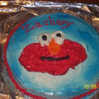 Elmo 1St Birthday Smash Cake