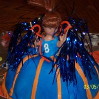 Cheerleader I helped my daughters friend make this for her a cheerleading fundraiser at their school. She did most of the work since she was supposed...
