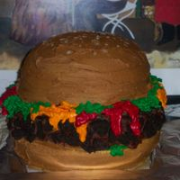 Cheeseburger   All buttercream