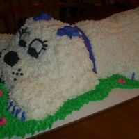 Puppy Dog  Here is a puppy I amde last night for practice. I have to make this same cake next week and I wanted to make sure it could be done. I would...