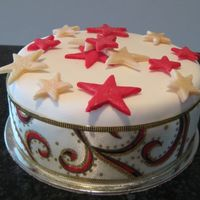 Simple Traditional Mini Xmas Cake