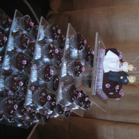 Pink & Silver Cupcake Tier