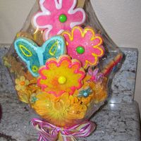 Spring Is In The Air My first cookie bouquet
