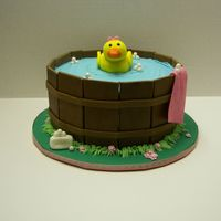 Rubber Ducky Bath Tub