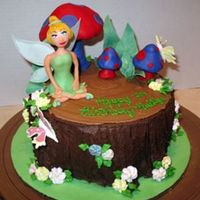 Tinkerbell This was made for my friend's daughter's birthday. She loved it so much she was speechless when I delivered it. All decorations...