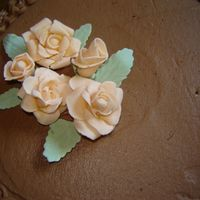 Basket Cake  I had 2 hrs notice to make a cake for a church event last night so I did a basketweave the threw on the gumpaste roses I'd just been...