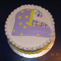 Baby Shower This cake matched the invitations