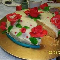 Painting The Roses Red I made this banana and coconut cake for my 21st last year. I had a Mad Hatter's Tea Party and my best friend's mum suggested a...