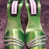 Shoes Marzipan shoes airbrushed and lustered