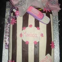 Shopping Bag Cake For My Niece