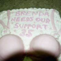 Bra Cake For A 35Th Birthday