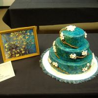 Almond Branches First competion cake, didnt win anything but learned alot and cant wait to do another.