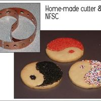 Yin Yang NFSC - Made my own cookie cutter