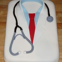 Doctor Lab Coat Completely inspired by the talent on this site 8). For anesthesia residents' picnic.