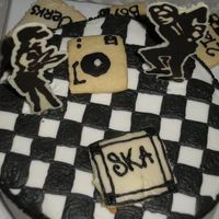 Ska Cake I so love this cake and thanks to everyone who helped me out
