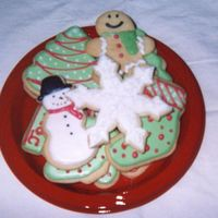Holiday Cookies I am new to decorating but made these from many of your inspirational cookies using the no fail sugar cookie recipe and the antonia royal...