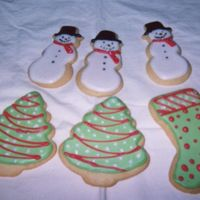 Holiday Cookies-A Better Photo I was using a disposable camera-no film in our regular camera for these photos-but these are a few more of the holiday cookies I made for...