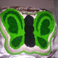 Butterfly Cake I made this for a friends daughter for her birthday.