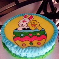 Easter Cake For Kids I made this FBCT cake for my sons' Kindergarten class. I made a funfetti cake with buttercream icing, everyone loved it:) My internet...