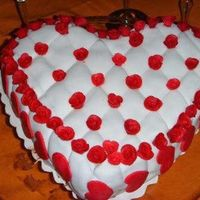 My First Cake For Valentine's Day
