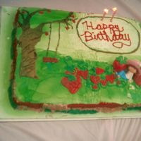 Strawberry Shortcake Strawberry Shortcake, all hand drawn.