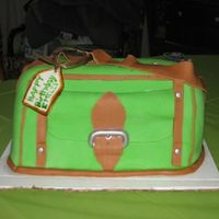 Purse Cake All done in Fondant