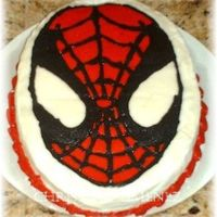 Spiderman My grandson's smash cake. FBCT