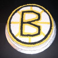 Bruins Logo Team   I did it for the 2005 inaugural game last automn