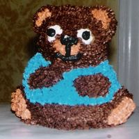 Bear baby bear cake for friends little boys bday