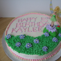 Tinkerbell Tinkerbell birthday cake for my FIL's girlfriends grandaughter