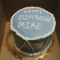 Blue Bday Cake   bcake for my FIL