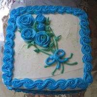 Blue Roses got bored and thought i would practice some roses with left over b/c. let me know what you think. all comments welcome. Jen