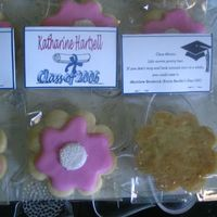 The Back Side Of Graduation Favors This is the back side of the open house favors. It has the class motto on it.